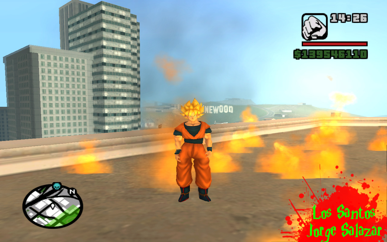Gta san andreas dbz mod download for pc